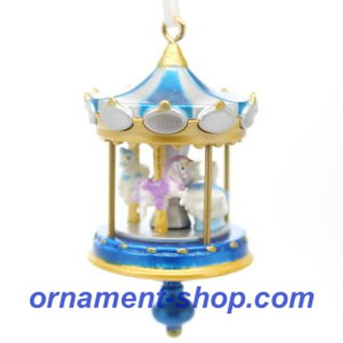 2019 Christmas Carousel #3F Hallmark ornament (QXM8279)