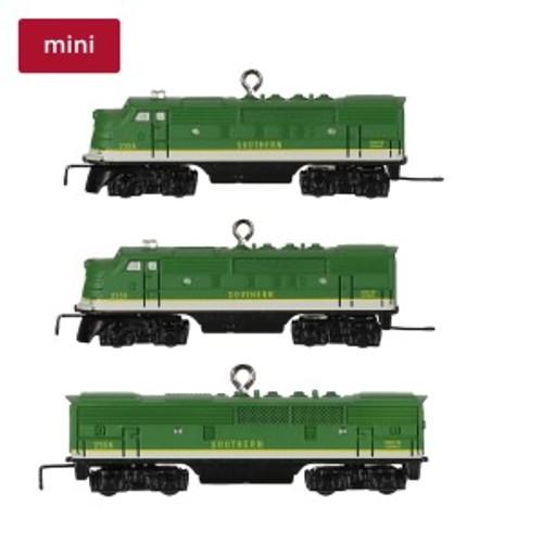 2019 Lionel 2231W Southern Freight Set Mini Hallmark ornament (QXI3439)