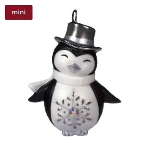 2019 Pretty Penguin Hallmark ornament (QXM8329)