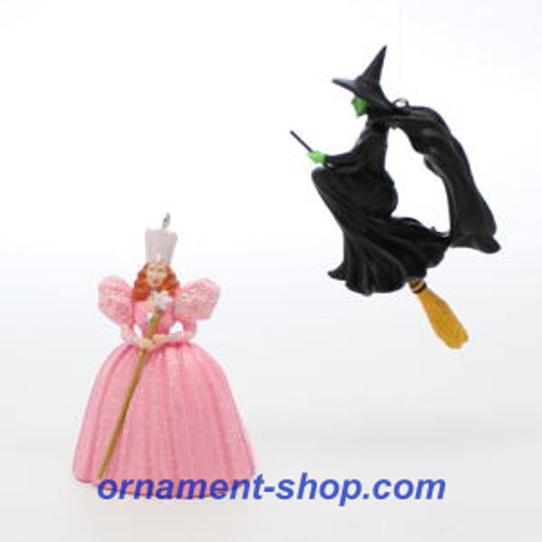 2019 Wizard of Oz - Glinda and Wicked Witch of the West - Ltd Hallmark ornament (QXE3197)