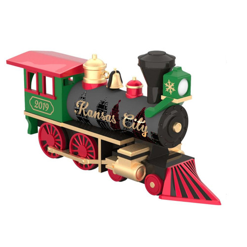 2019 Next Stop, Kansas City Hallmark ornament (QSR1097)