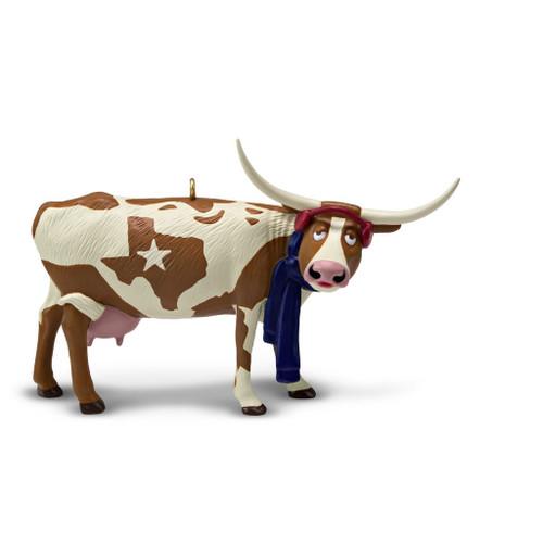2019 Texas Pride - Longhorn Hallmark ornament (QSR1676)