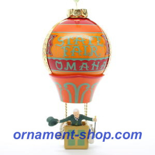 019 Wizard of Oz - Up, Up and Away Hallmark ornament (QXI3369)