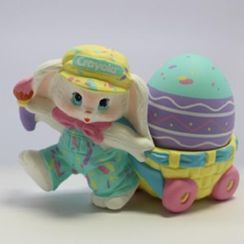 1990 Crayola Bunny Figurine (EPR3701)