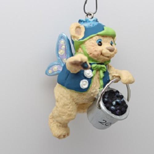 2000 Fairy Berry Bears #2 - Blueberry