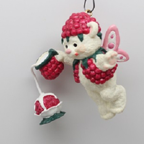 2001 Fairy Berry Bears #3 - Raspberry