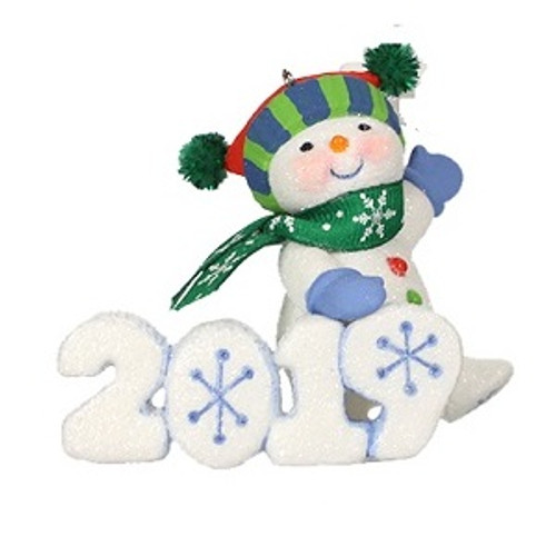 2019 Frosty Fun Decade #10F KOC Event Hallmark ornament (QXC9029)