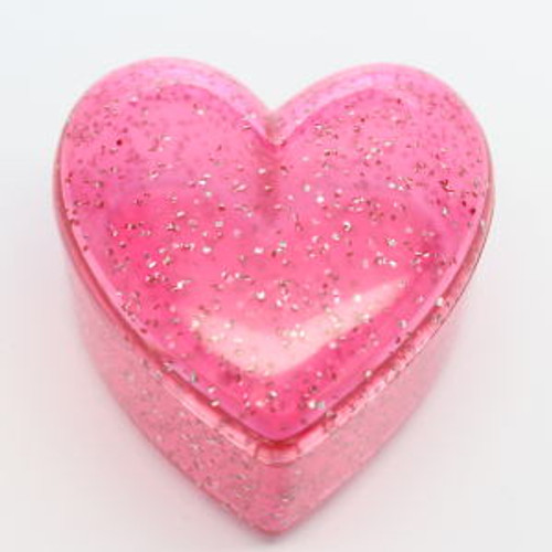 1986 Pink Heart Container (EPF4473)