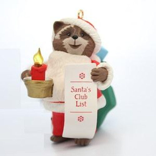 1992 Santa's Club List