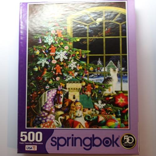 Santas Visit - 500 Pieces - Puzzle (34-01556)