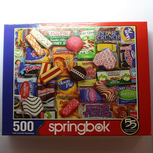Snack Treats - 500 Pieces - Puzzle (33-01589)