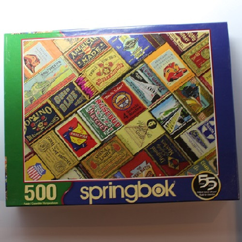 Matchbox Railroad - 500 Pieces - Puzzle (33-01549)