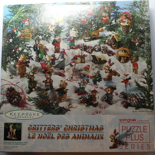 Critters Christmas - 500 Pieces - Puzzle (XZL3462)
