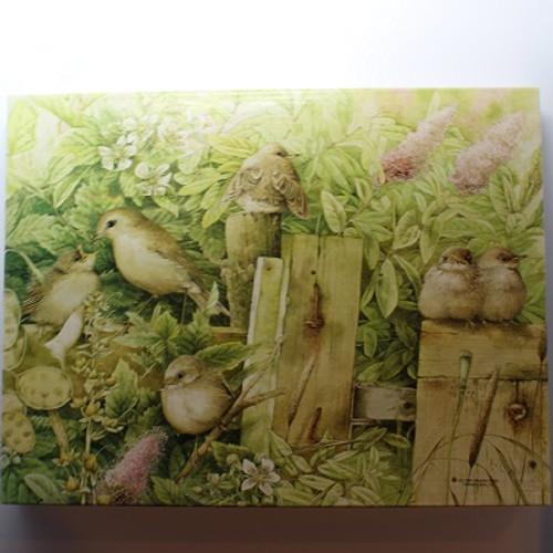 Marjolein Batin - Golden Warblers - 500 Pieces - Puzzle (PZL4494)