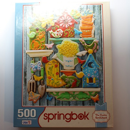 The Cookie Architect - 500 Pieces - Puzzle (33-01525)