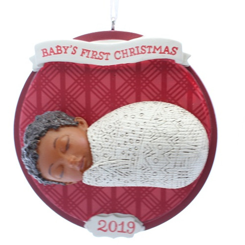 2019 Mahogany - Baby's First Christmas (Red Box) (2HDA1504)