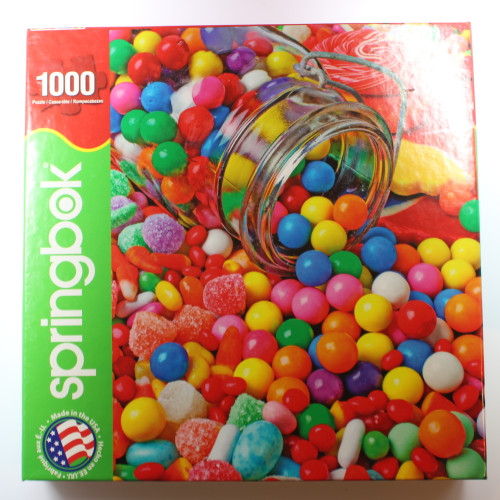 Gumballs and Gumdrops - 1000 Pieces - Puzzle
