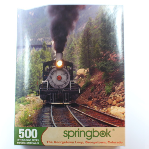Mountain Train - 500 Pieces - Puzzle