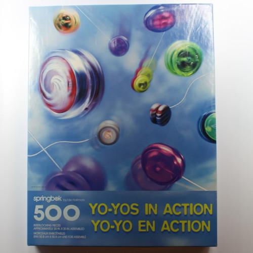 Yo-Yos in Action - 500 Pieces - Puzzle