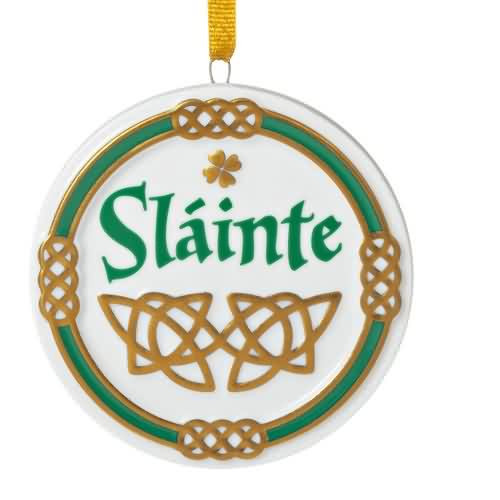 2020 An Irish Toast Hallmark ornament (QGO1991)
