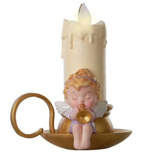 2020 Angelic Candlelight Hallmark ornament (QGO1841)