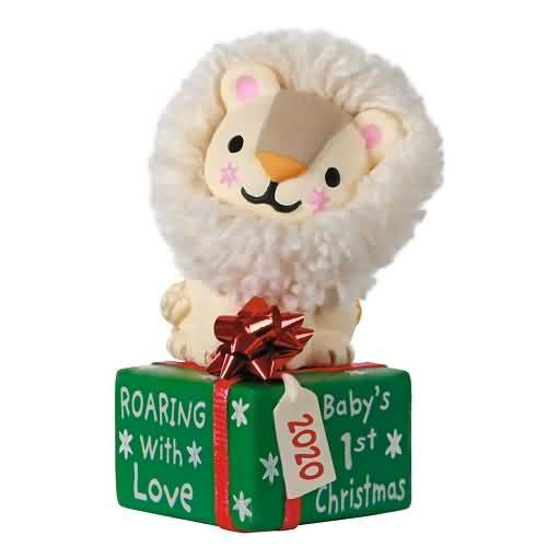 2020 Baby's First - Roaring With Love Hallmark ornament (QGO1911)