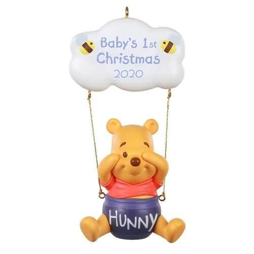 2020 Baby's First Christmas - Winnie the Pooh Hallmark ornament (QXD6574)