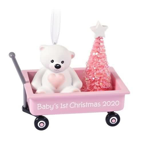 2020 Baby Girl's First Christmas Hallmark ornament (QGO1894)