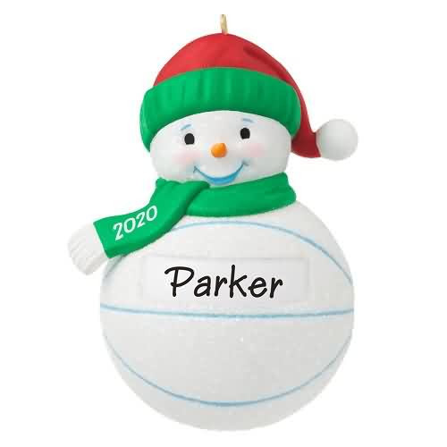 2020 Basketball Snowman Hallmark ornament (QGO1794)