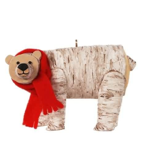 2020 Birch Polar Bear Hallmark ornament (QGO1871)