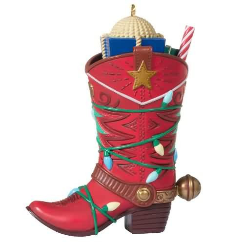 2020 Boot-Kickin Christmas Hallmark ornament (QGO1984)
