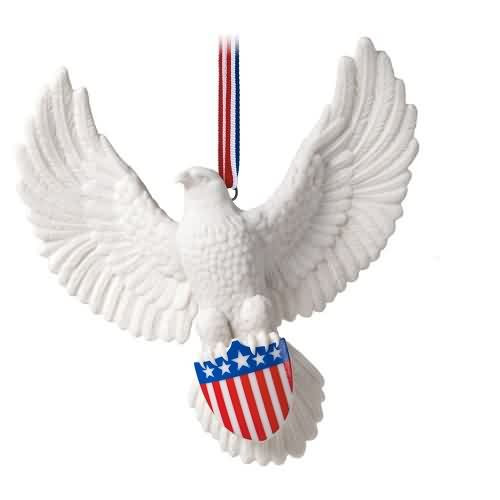 2020 Brave and Free Hallmark ornament (QHX4034)