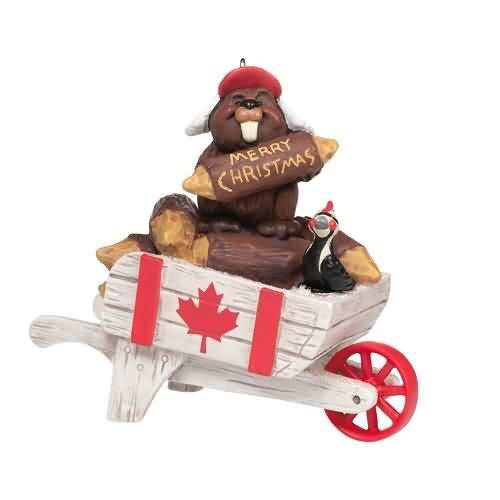 2020 Christmas in Canada Hallmark ornament (QHX4041)