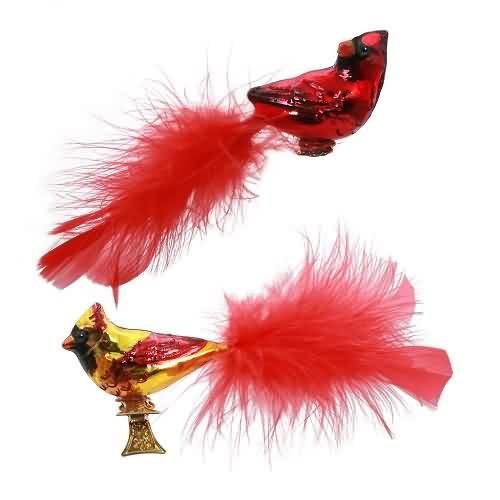 2020 Cute Cardinal Couple Hallmark ornament (QK1401)