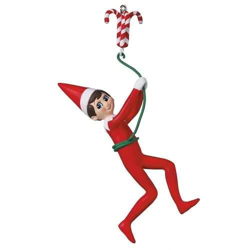 2020 Elf on the Shelf - Elfish Antics Hallmark ornament (QXI6164)
