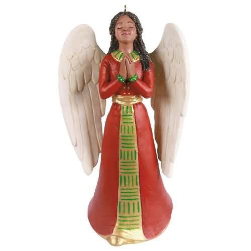 2020 Exultant Angel Hallmark ornament (QSM7841)
