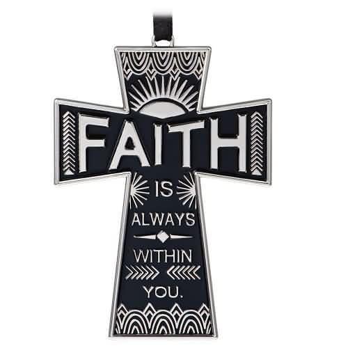 2020 Faith Always Hallmark ornament (QHX4084)
