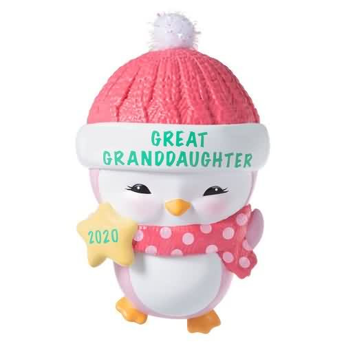 2020 Great Granddaughter Hallmark ornament (QGO1661)