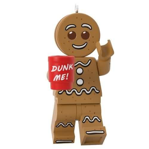2020 Lego - Gingerbread Man Hallmark ornament (QXI2584)