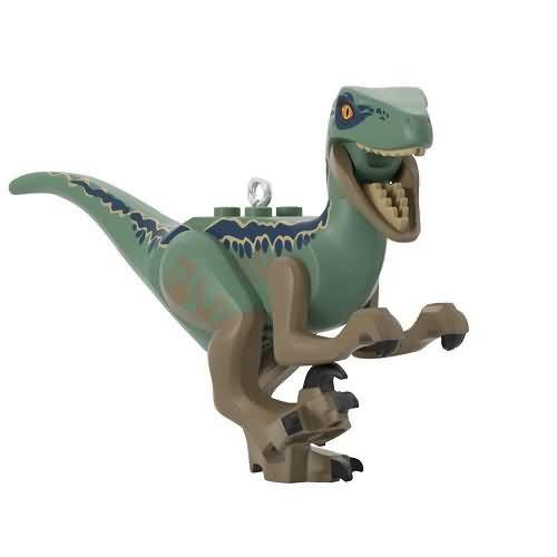 2020 Lego - Velociraptor Blue - Jurassic World Hallmark ornament (QXI2554)