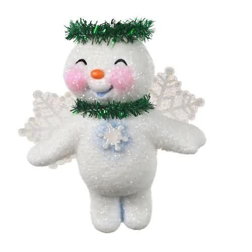 2020 Lovable Snow Angel Hallmark ornament (QGO2011)