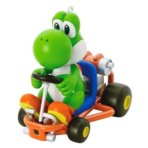 2020 Mario Kart - Yoshi Hallmark ornament (QXI2534)