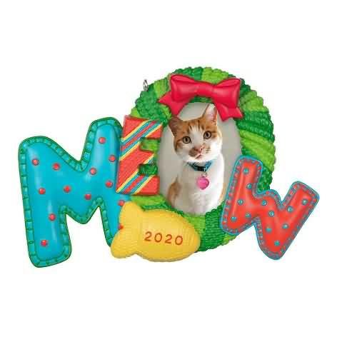 2020 Meowy Christmas Hallmark ornament (QGO1721)