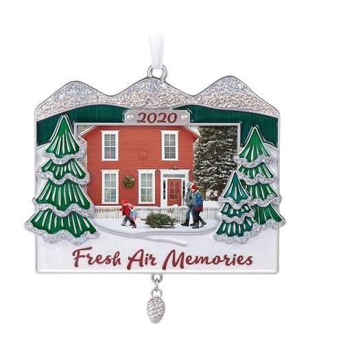 2020 Mountainous Memories Hallmark ornament (QHX4054)