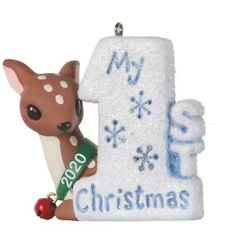 2020 My 1st Christmas Hallmark ornament (QGO1901)