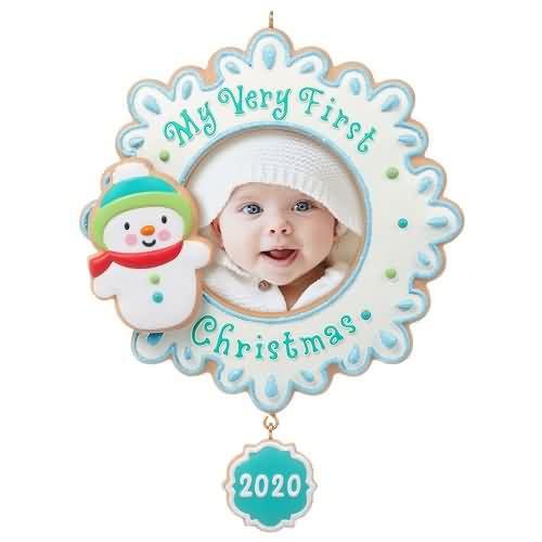 2020 My Very First Christmas Hallmark ornament (QGO1874)