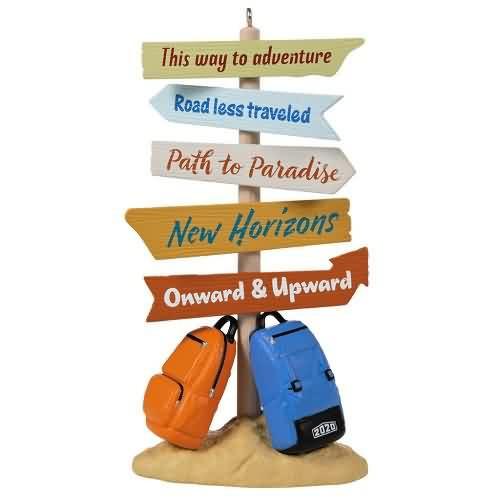 2020 New Horizons Ahead Hallmark ornament (QGO1971)