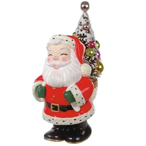 2020 Nostalgic Santa Hallmark ornament (QK1381)