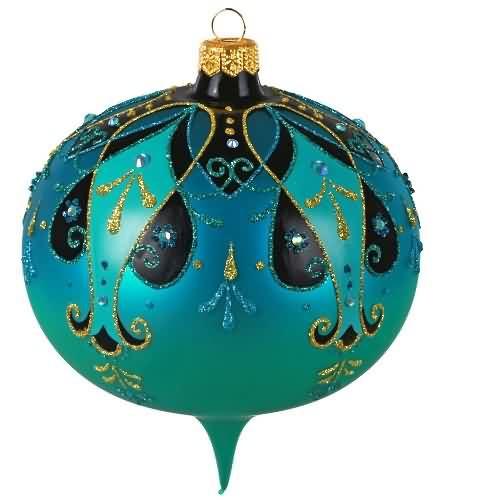 2020 Ornate Glass Onion Hallmark ornament (QK1394)