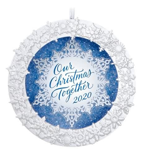 2020 Our Christmas Together Hallmark ornament (QGO1744)